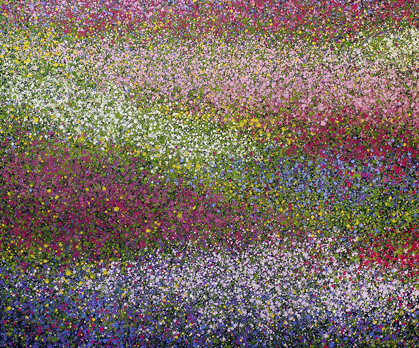 Lieu Nguyen, Spring, 2009_ Acrylic on canvas, 130cm x 110cm, copy
