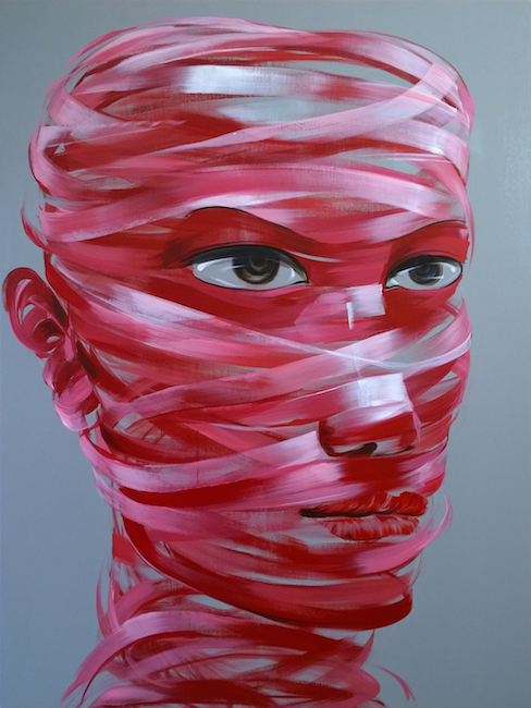 Nguyen Minh Nam_Khong Gian 1_Acrylic on canvas_160 x 120 cm