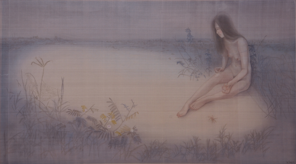 13_le-thuy_on-the-blue-river-_78x138cm_2016_silk-painting-e1475503803358