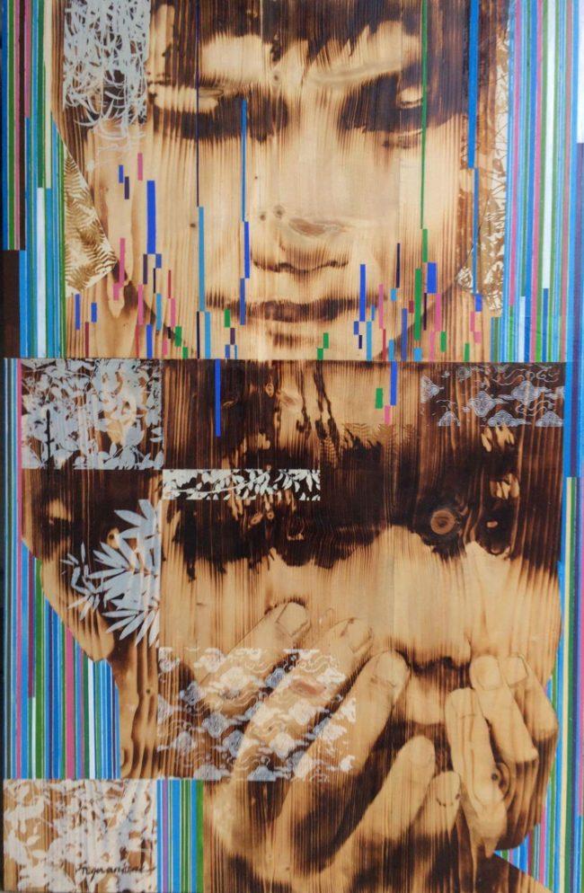 Ngo Van Sac - Childhood Memory 2 - 120 x 80cm
