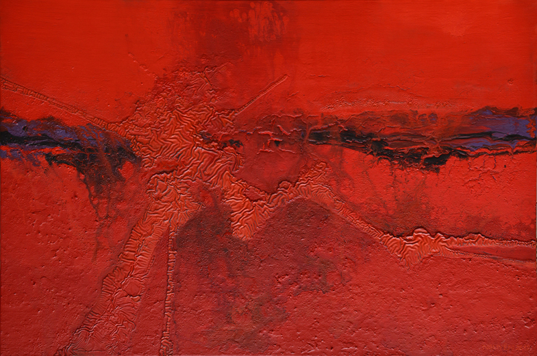 The Encroachment No 9. Acrylic on canvas. 80 x 120 cm. 2012