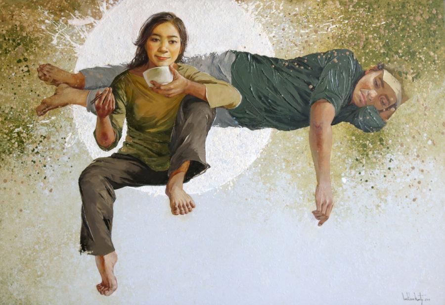Lim Khim Ka Ty_THE RICH_2017_Oil on canvas_110 X 140 cm