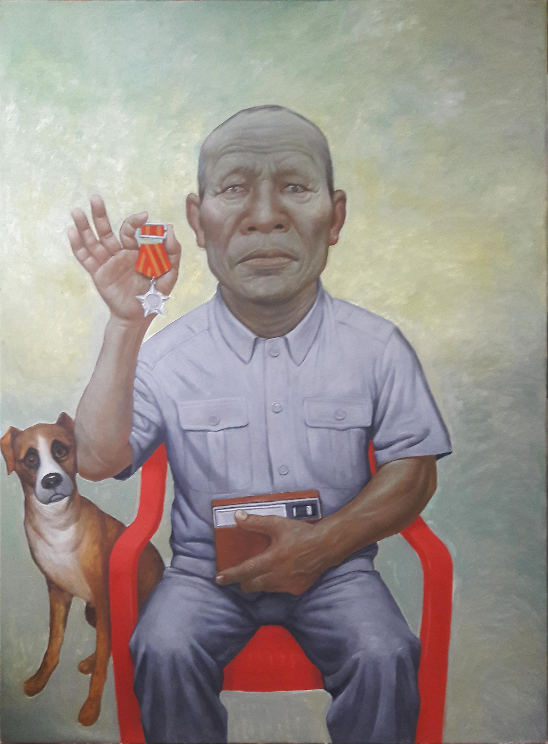 Nguyen-Hung-Son--Vietnam-Veteran-cuu-chien-binh-2017-160x120-cm