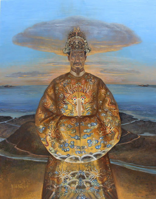 TMT_King Gia Long _2017_ 122 cm x 155 cm