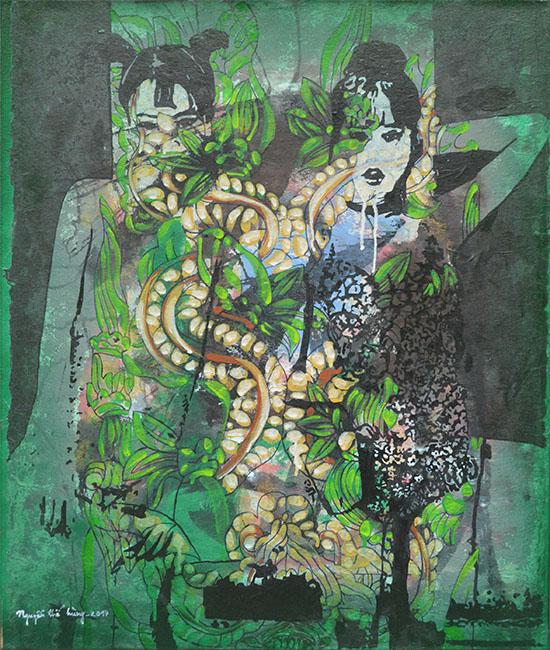 Old Garden 3_2017_76 x 66 cm