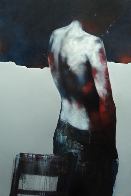 Khong Gian Trang_ KT 120 x 180 cm_ 2014