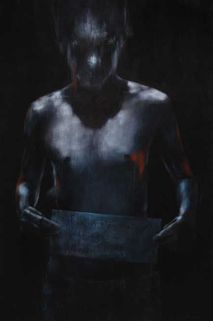 Su Rang Buoc_ KT 180 x 120 cm , Acrylic ,2014