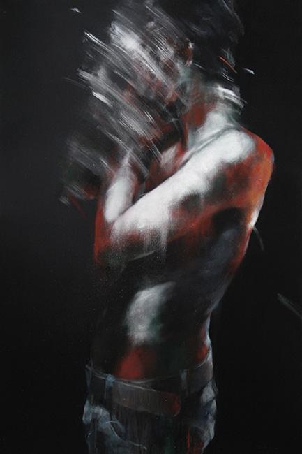 Truoc Anh Sang_180 x 120 cm_Acrylic_2014