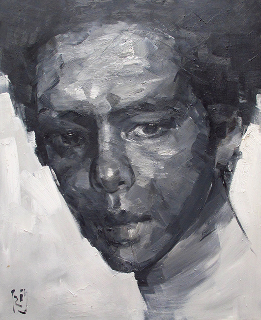 PQT_Self-portrait_Oil on canvas_100 x 90 cm