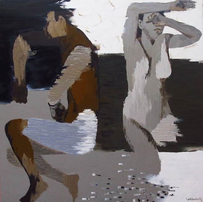 Ka Ty_Sleeping_ 2004_Oil on canvas_100 x 100 cm
