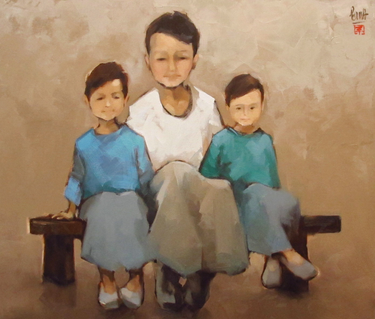 3_Final _Nguyen Thanh Binh_Portrait of Three Borthers_2018_Oil on canvas_80 x 90 cm.jpg