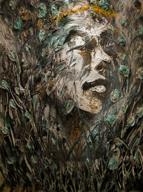 Pham Thanh Toan_Self-portrait_Chan Dung_2018_Oil on canvas_180 x 240 cm