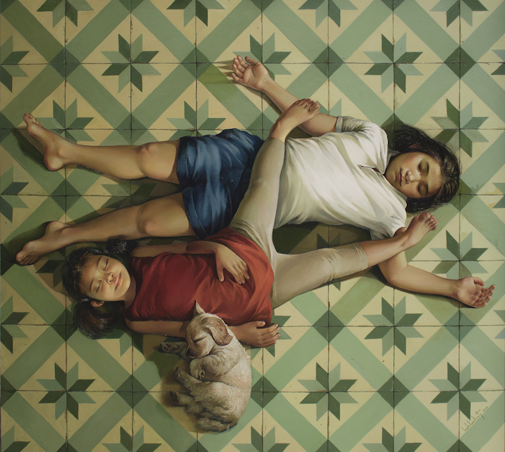 LKKT_ Rest Well_Giac Ngu_2019_Oil on canvas_140 x 155 cm