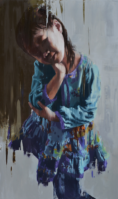 NVS_ Con Gai Toi 2_ My Daughter 2_2019_Oil on canvas_160 x 95 cm